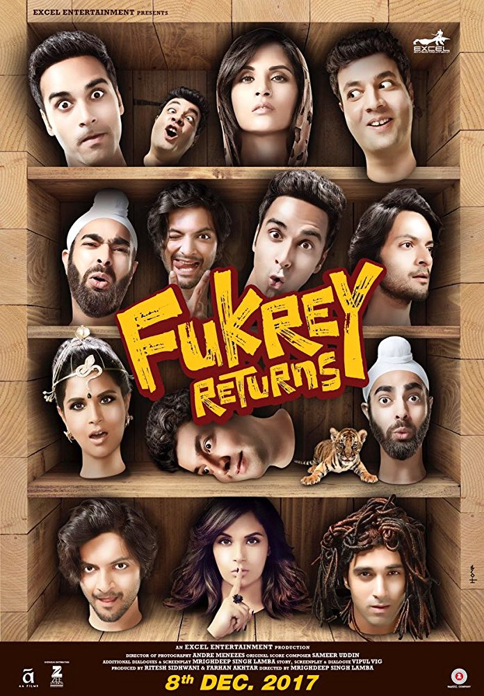 Fukrey Returns 2017 720p DVDScr مترجم