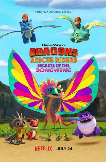 فيلم Dragons: Rescue Riders: Secrets of the Songwing 2020 مترجم اون لاين