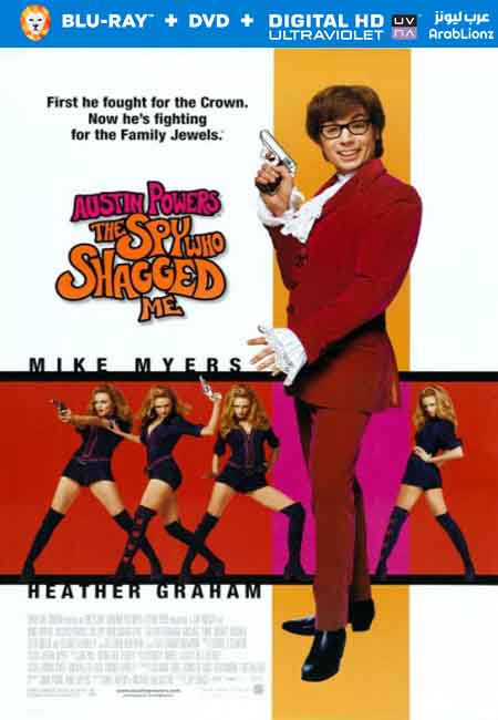 فيلم Austin Powers The Spy Who Shagged Me 1999 مترجم اون لاين